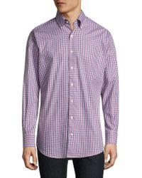 Peter Millar - Regular-fit Cotton Shirt - Lyst