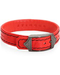 Stinghd - Luxe Leather Bracelet - Lyst