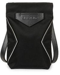 Givenchy Antigona Leather Crossbody Phone Case - Black
