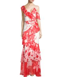 Alice + Olivia - Olympia Floral Dress - Lyst