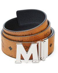 MCM Men's Claus Reversible Belt - Black