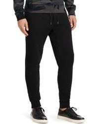 Polo Ralph Lauren - Embroidered Double-knit Jogger Pants - Lyst