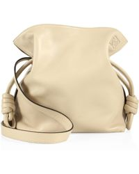 Loewe - 'small Flamenco Knot' Nappa Leather Bag - Lyst