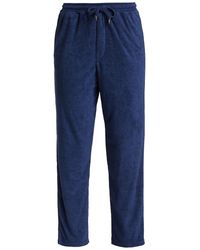 Onia Easy Terrycloth Lounge Pants - Blue