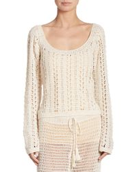 Anna Kosturova - Summer Breeze Sweater - Lyst