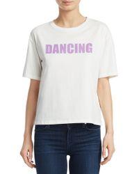 Sandro - Paz Dancing T-shirt - Lyst
