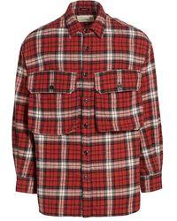 R13 - Oversized Plaid Button-down Shirt - Lyst