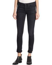 R13 - Frayed Skinny Jeans - Lyst
