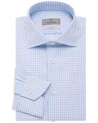 Canali Modern-fit Dress Shirt - Blue