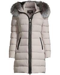 Mackage Calla Fur-trim Hooded Puffer Coat - Multicolor
