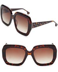 Alice + Olivia - Lexi Square Sunglasses - Lyst