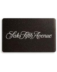 Saks Fifth Avenue Saks Signature Gift Card - Black