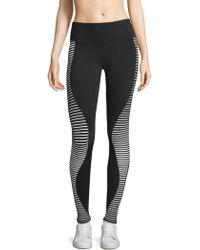 Alo Yoga - Airbrush Stripe Leggings - Lyst