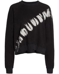 Electric and Rose Ronan Tie-dye Pullover - Black