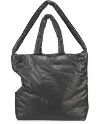 Kassl Medium High Summer Padded Oil-coated Canvas Dog Carrier Bag - Black
