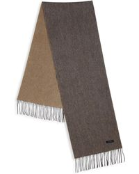 Saks Fifth Avenue - Double Faced Cashmere Scarf - Lyst