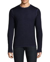Patrick Assaraf - Knitted Wool Sweater - Lyst