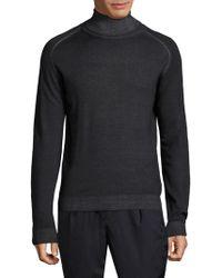 Etro - Knitted Turtleneck Sweatshirt - Lyst