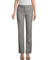 ESCADA - Tamino Houndstooth Trousers - Lyst