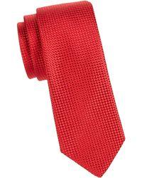 Ike Behar - Woven Silk Tie - Lyst