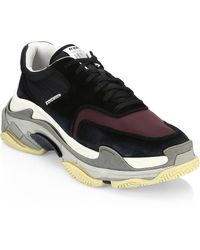 Balenciaga - Triple S Trainer Sneakers - Lyst