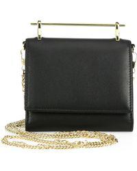 M2malletier - Cabiria Leather Chain Wallet - Lyst