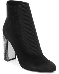 Rene Caovilla - Strass Heel Ankle Boots - Lyst