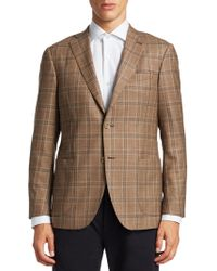 Saks Fifth Avenue - Collection Plaid Wool Sportcoat - Lyst