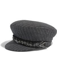 Shop Women s Chanel Hats Online Sale 9e81ff61587