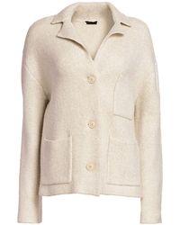 ATM Novelty Blend Sweater - Natural