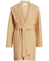 The Row Maddy Belted Coat - Natural