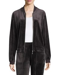 Natori - Zip Bar Jacket - Lyst