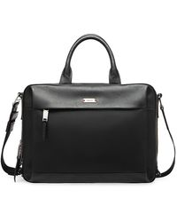 Bally Vogel Leather Briefcase - Black