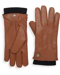 COACH - 3-in-1 Leather Gloves - Lyst