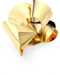 Proenza Schouler Metal Cuff Bracelet - Metallic