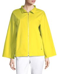 Lafayette 148 New York - Ford Zip-front Jacket - Lyst