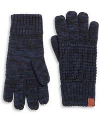 Bickley + Mitchell - Fleece Lined Wool Blend Gloves - Lyst