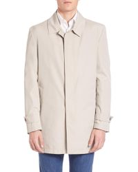 Isaia - Double-face Trench Coat - Lyst