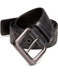 Bottega Veneta - Intrecciato Belt - Lyst