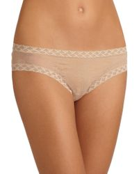 Natori Foundations Bliss Lace Girl Brief - Natural
