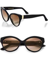 Cutler & Gross - Tequila Sunrise 56mm Cat Eye Sunglasses - Lyst