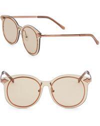 f4ab58232a5 Karen Walker Superstars Harvest Mirrored Round Sunglasses - Lyst