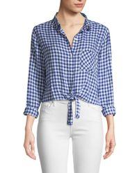 Rails - Val Gingham Plaid Shirt - Lyst