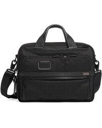 Tumi Alpha Expandable Laptop Briefcase - Black