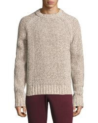 J.Lindeberg - Twist Braided Sweater - Lyst