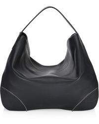 Alaïa - Studded Leather Hobo - Lyst