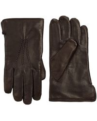 Saks Fifth Avenue - Collection Leather Gloves - Lyst