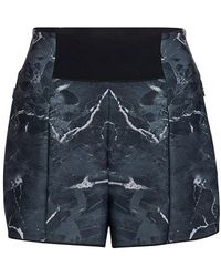 Ultracor Marble Pavo Athletic Shorts - Black
