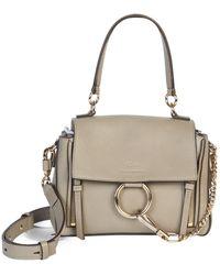Chloé Small Faye Day Bag - Gray