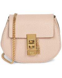 Chloé Mini Drew Leather Backpack - Multicolor